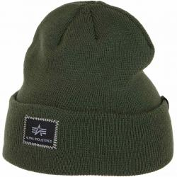 Alpha Industries Beanie X-Fit oliv