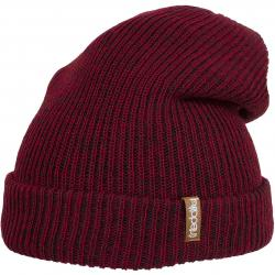 Iriedaily Beanie Smurpher Light anthrazit/rot