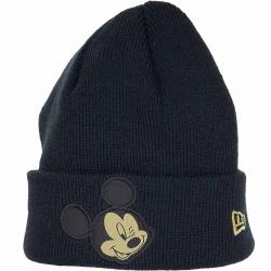 New Era Kinder Beanie Character Knit Mickey Mouse schwarz/gold