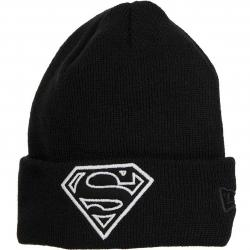 New Era Kinder Beanie Glow In The Dark Knit Superman schwarz