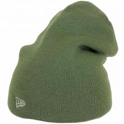 New Era Beanie Essential Long oliv/grau