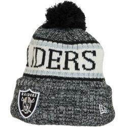 New Era Beanie OnField Oakland Raiders black/weiß