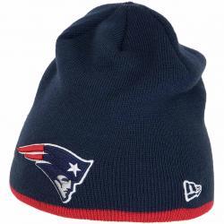 New Era Beanie Team Skull New England Patriots dunkelblau/rot