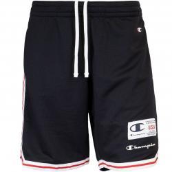 Champion Stripe Basketball Shorts schwarz