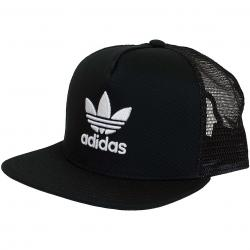 Adidas Originals Snapback Cap Trefoil Trucker schwarz