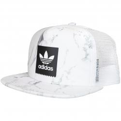 Adidas Originals Trucker Cap Marble weiß/schwarz