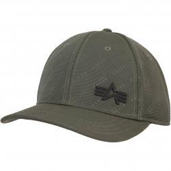 Alpha Industries Embossed Cap grün