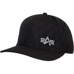 Alpha Industries Embossed Cap schwarz