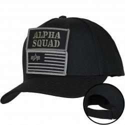 Alpha Industries Snapback Cap VLC Patch schwarz