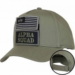 Alpha Industries Snapback Cap VLC Patch dunkelgrün