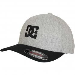 DC Shoes Flexfit Cap Star 2 grau