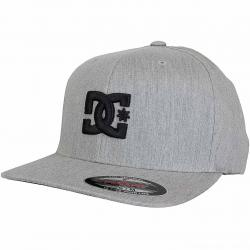 DC Shoes Flexfit Cap Star TX hellgrau