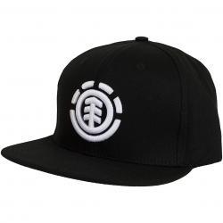 Element Snapback Cap Knutsen schwarz/weiß