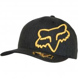 Fox Flexfit Cap Clouded schwarz
