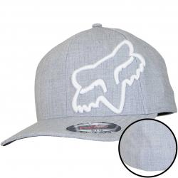 Fox Flexfit Cap Clouded steel grey