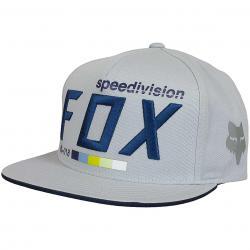 Fox Snapback Cap Draftr grau
