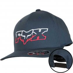 Fox Head Flexfit Cap Duel Head 110 dunkelblau/rot