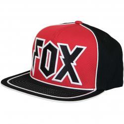 Fox Snapback Cap Faction schwarz/rot