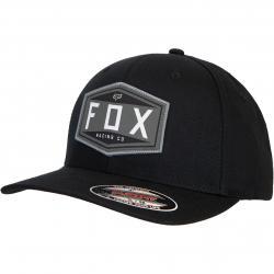 Fox Emblem Flexfit Cap schwarz