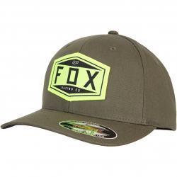 Fox Emblem Flexfit Cap olive