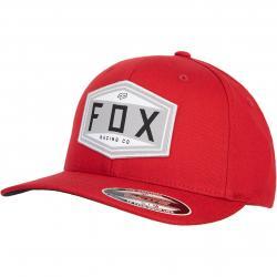 Fox Emblem Flexfit Cap rot