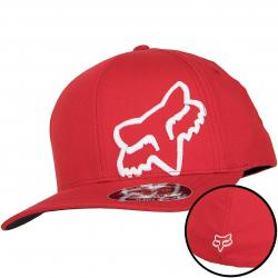 Fox Flexfit Cap Flex 45 dark red