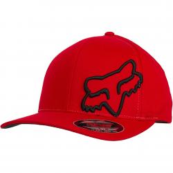 Fox Flexfit Cap Flex 45 rot