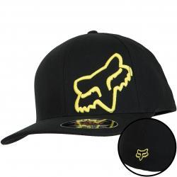 Fox Flexfit Cap Flex 45 schwarz/gelb