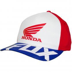 Fox Flexfit Cap Honda Basic rot/weiß