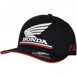 Fox Flexfit Cap Honda Flex schwarz