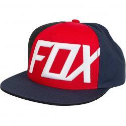 Fox Snapback Cap Inverter dunkelgrau/rot