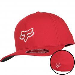 Fox Flexfit Cap Legacy dark red