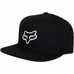 Fox Snapback Cap Legacy schwarz