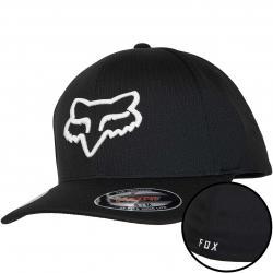 Fox Flexfit Cap Lithotype schwarz/weiß