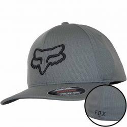 Fox Flexfit Cap Lithotype dunkelgrau