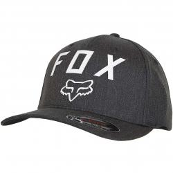 Fox Flexfit Cap Number 2 heather graphite