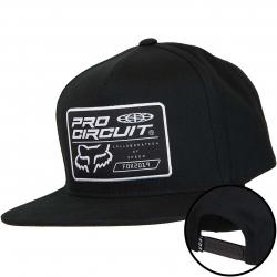 Fox Snapback Cap Pro Circuit schwarz