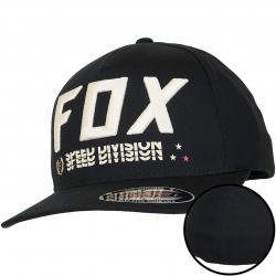 Fox Head Flexfit Cap Triple Threat schwarz