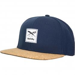 Iriedaily Cap Exclusive Cork dunkelblau