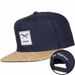 Iriedaily Snapback Cap Exclusive Cork blau