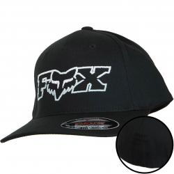 Fox Head Kinder Flexit Cap Duel Head schwarz/blau