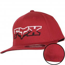 Fox Head Kinder Flexit Cap Duel Head rot