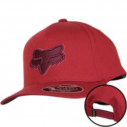 Fox Head Kinder Flexfit Cap Epicycle 110 rot