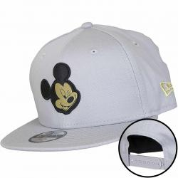 New Era 9Fifty Kinder Snapback Cap Character Mickey Mouse grau/gold