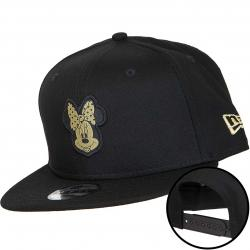 New Era 9Fifty Kinder Snapback Cap Character Minnie Mouse schwarz/gold