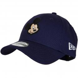 New Era 9Forty Snapback Cap Disney Patch Mickey Mouse dunkelblau
