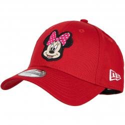 New Era 9Forty Kinder Snapback Cap Disney Patch Minnie Mouse rot