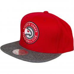 Mitchell & Ness Snapback Cap Atlanta Hawks rot