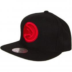 Mitchell & Ness Snapback Cap Atlanta Hawks schwarz