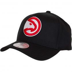 Mitchell & Ness Snapback Cap Atlanta Hawks schwarz/rot